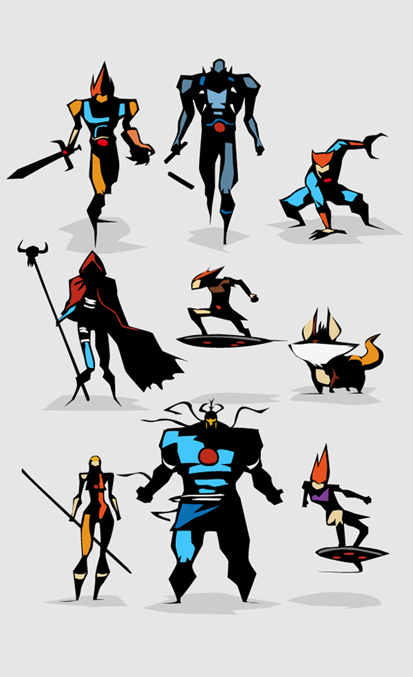 Minimal Heroes by Bunka
