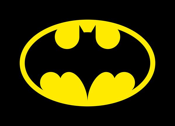 neue batman logo on behance