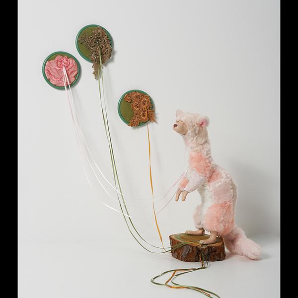 animals taxidermy stuffed sewing