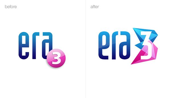 logo identity brand crystal pink blue