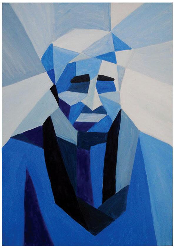 Cubic Portrait Canvas On Behance