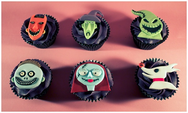 The Nightmare Before Christmas Cake Amp Cupcakes On Behance