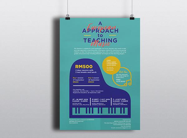 優秀的23個音樂海報設計欣賞
