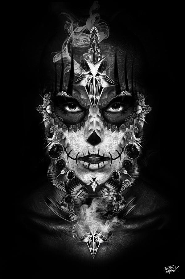 Fashion pantone 2017 - Fantasmagorik 174 Mexican Voodoo On Pantone Canvas Gallery