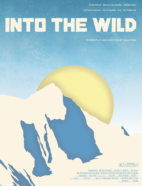 Into the Wild Movie Poster & DVD Rebrand on Behance
