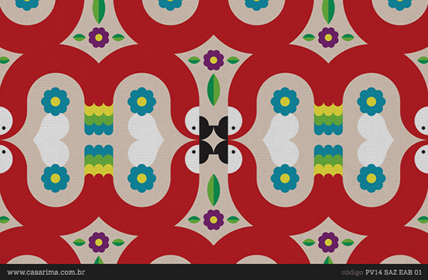 casa rima,Estampas,Brasil,arara,Gato,Surf,surfista,arara azul,indio,indigena,Cat,pattern