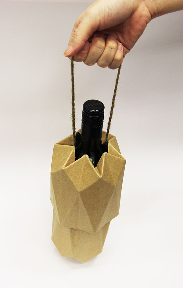 Eco Wine Packaging On Behance