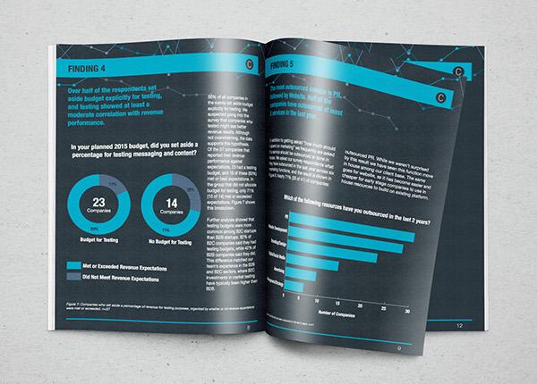 Whitepaper Design Startup Marketing Budget Survey On RISD Portfolios