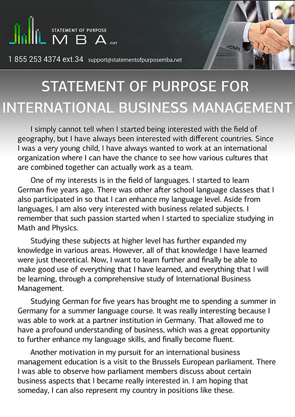 international management 7 essay International business management is a term that is used collectively to describe all commercial transactions which include • private • governmental • sales • investments • transportation the above take place between two or more nations.
