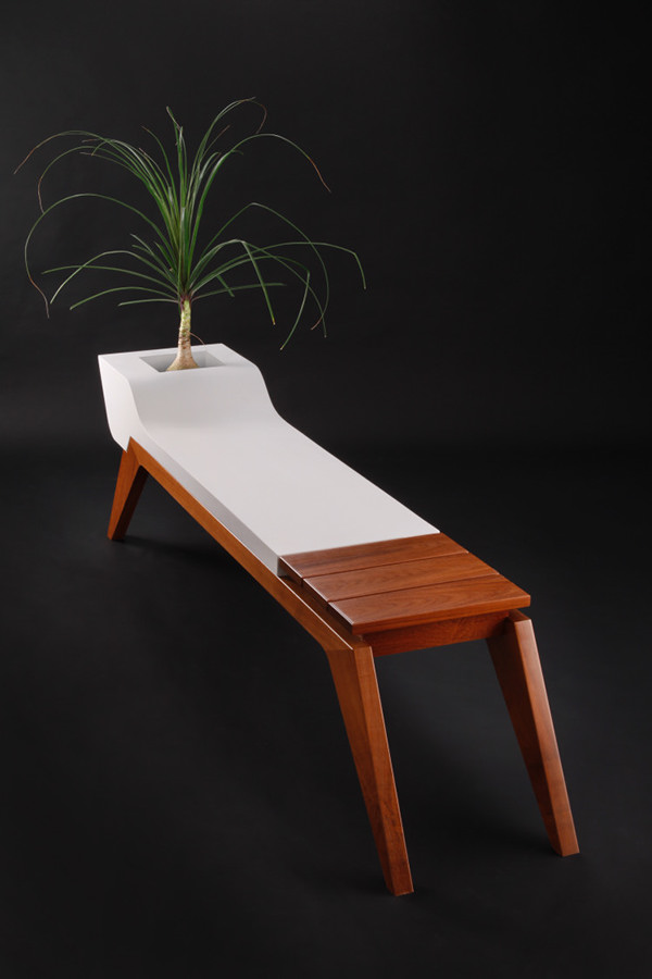 Silent Evolution Is A Bench That Can Either Be Used In An Interior Or  Exterior Setting. This Particular One I Made In Fiberglass.