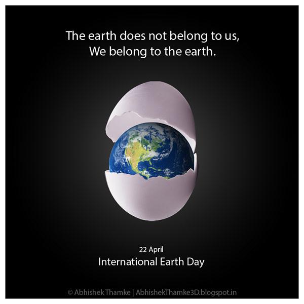 有獨特感的12套愛護地球海報欣賞