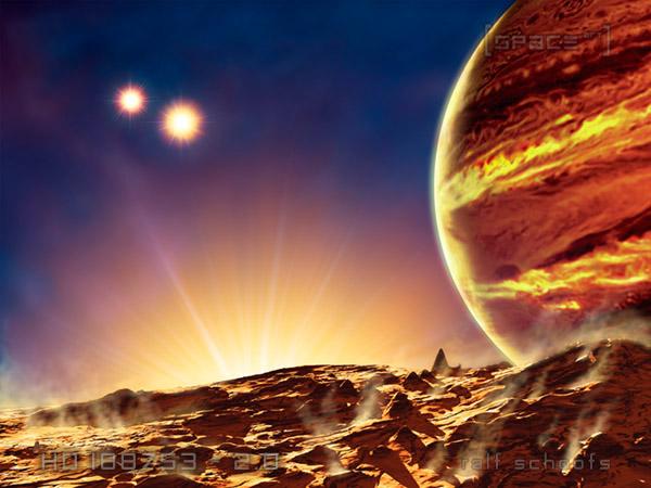 space art alien worlds on behance