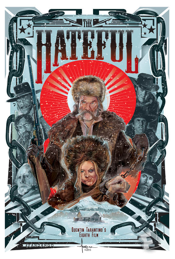 the hateful eight fandango vector commission on behance