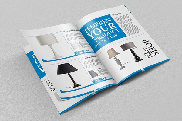 brochure catalog 8 pages mockups on behance