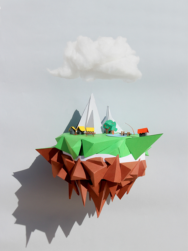 Floating Island Mjulien On Behance