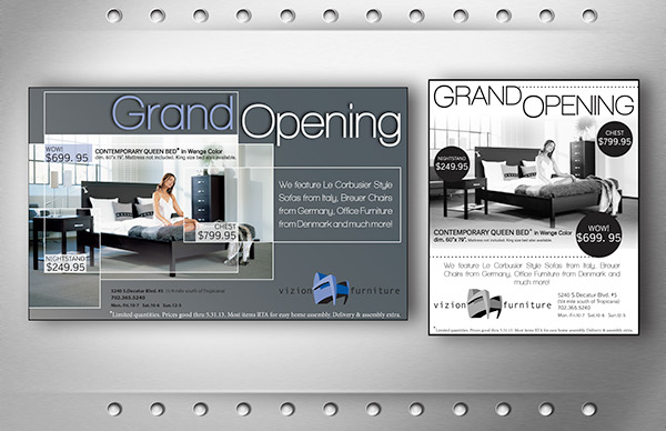 Furniture store newspaper ads Sale Ashley Furniture Advert Gallery Magazine And Newspaper Ads On Behance