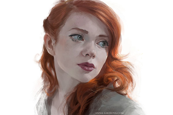 Studies and Sketches by Anna Lakisova