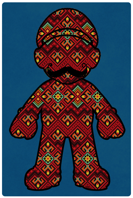 Mario Bross (Pattern)