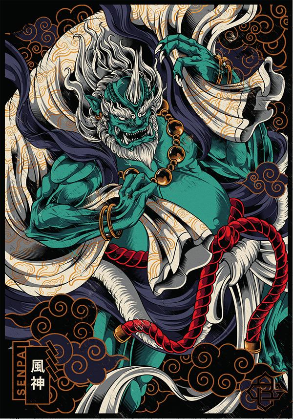 FUJIN | God Of The Wind