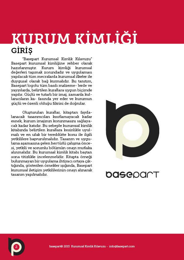 basepart brand identity Corporate Identity Manual Corporate Identity identity manual