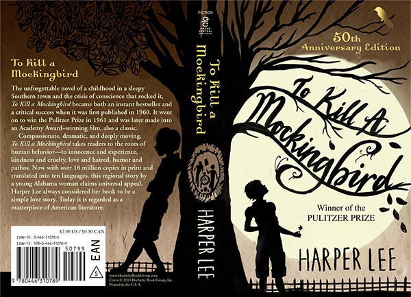 Book Cover Ideas For To A Mockingbird : To kill a mockingbird th anniversary cover on behance