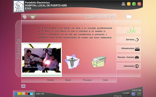 portfolio Flash app Web