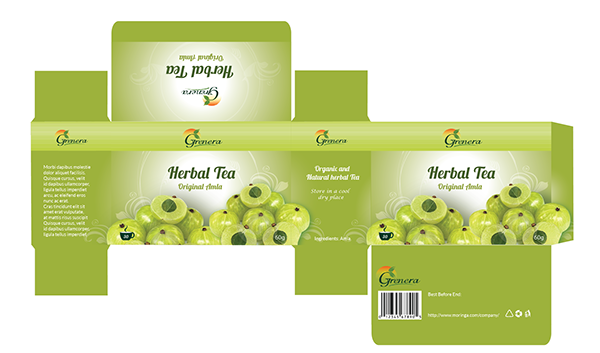package design tea amla herbal on pantone canvas gallery