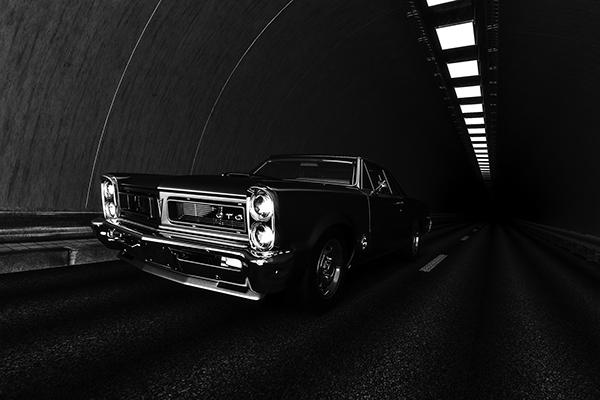 Pontiac Gto 3d Tunel Wallpaper Free On Pantone Canvas Gallery