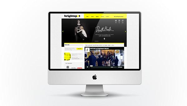 Website Design brightspot market brightspot market  curated design Clothing Garments shoes indie brands digital strategy