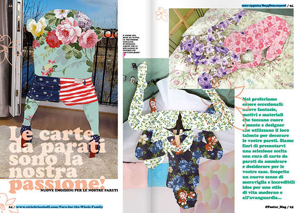 Poster Magazine Francesco Mazzenga illustrazione Fotografia magazine design art