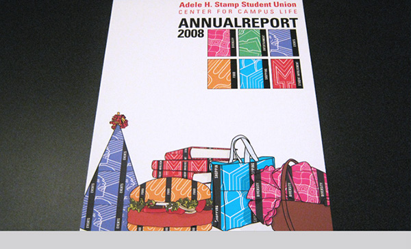 Stamp Annual Report on Behance