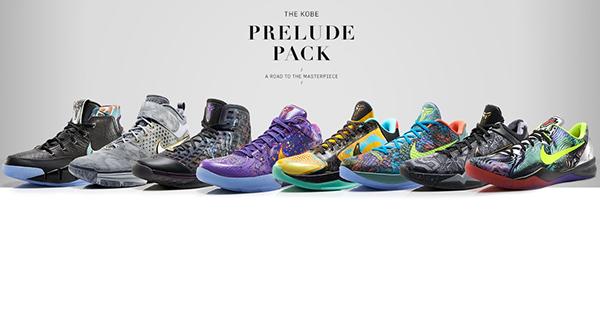 a0a545bf3a7b25 Nike Kobe Prelude Pack on Behance