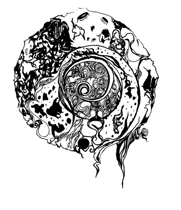 intricate abstract sun  u0026 moon designs on wacom gallery