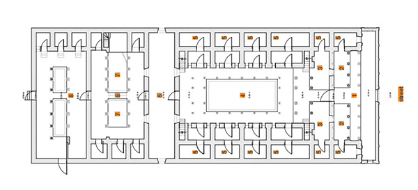 The Revive Chettinad Project on BehanceHouse Documentation   Ground Floor Plan