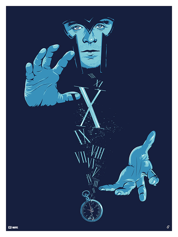 X-MEN Days of Future Past / Poster Posse #6 by Patrick Connan