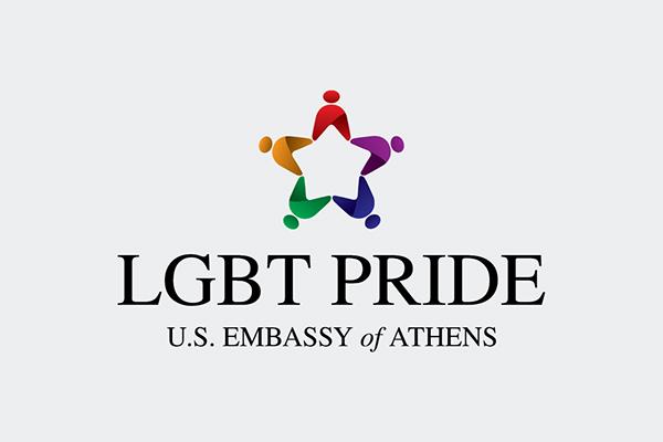 u.s.a. america Greece  greek embassy athens gay lesbian bisexual transgender LGBT colorful star human komnas
