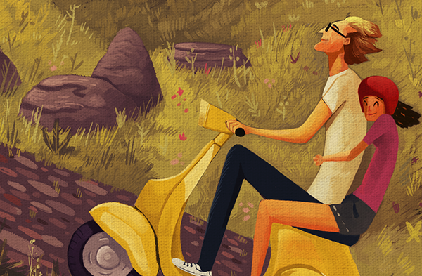 For a ride on behance for Game design darmstadt