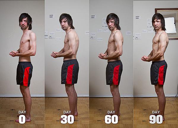 как набрать вес худому парню быстро