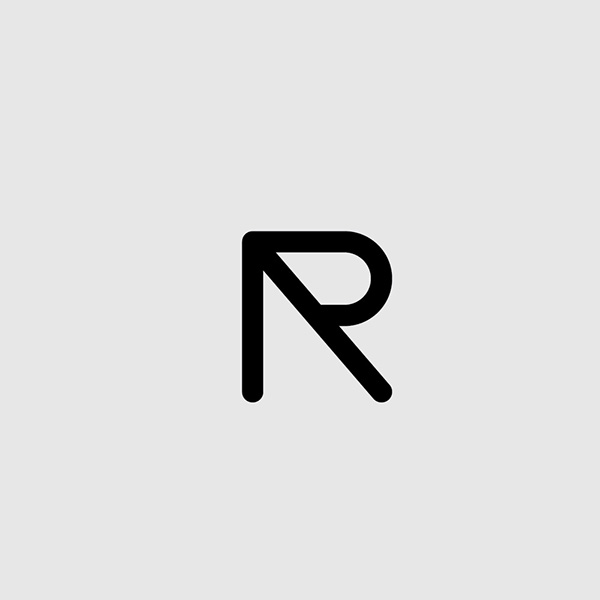 letter r on behance