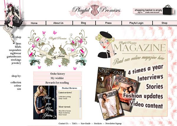 10b5b69bc9 Playful Promises Lingerie - design work on Behance