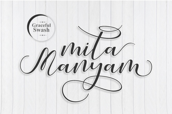 Calligraphy   Script Font handwritten lovely modern font swash