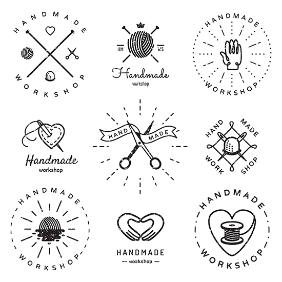 Vintage Hipster Logo Vector Sets And Business Cards On Behance