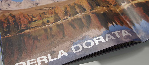 Catalogue brochure book print photo summer winter istitutional graphic design drip off