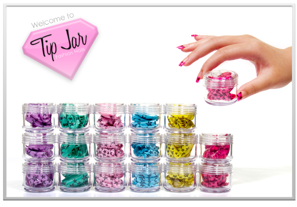 Tip jar nails business development on behance tip jar nails is was founded on october 2009 with mission of turning nail art tips into the perfect fashion accessory prinsesfo Images