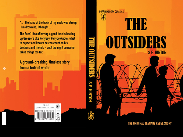 The Outsiders Book Cover Ideas ~ The outsiders book cover on behance