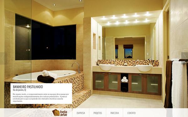 web bela arte an interior design website on pantone