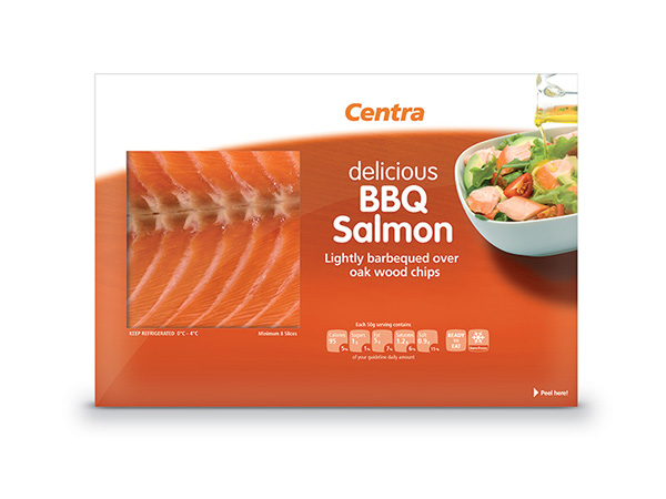 Salmon Package Centra Bbq Salmon Packaging