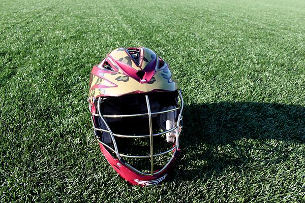 Iupui Lacrosse Helmet Wrap On Behance