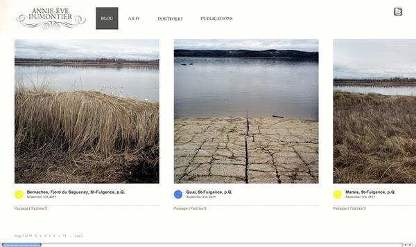 Annie-Ève Dumontier contemporary photography Blog wordpress horizontal