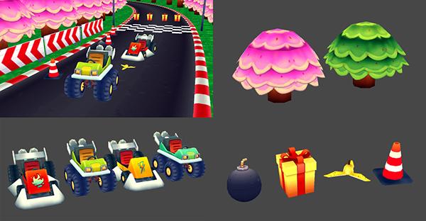 Game Art videogame 3D